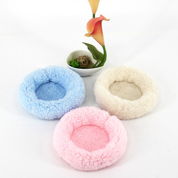 1pcs Guinea Pig Toy Chinchilla Bed Multiple Colour Plush Hamster House Healthy Small Animal Nest Pet Supplies Accessories