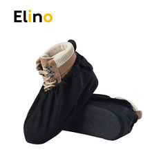 Elino 3 pairs of Men and Women Waterproof non-slip Shoe Covers Washable Reusable Shoe Covers Keep Floor Cleaning Shoe Covers