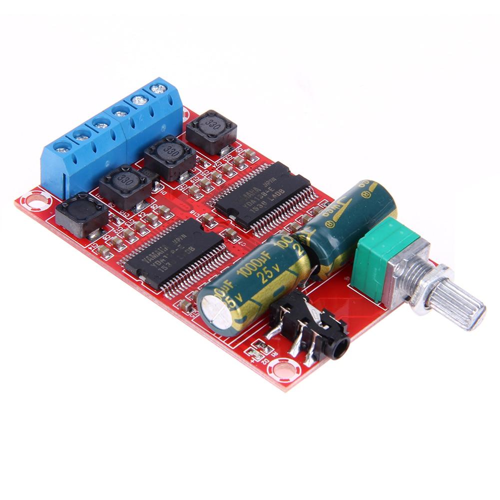 2*20W Digital Amplifier board Stereo Class D Amplifier Board Chipset YDA138-E Game Module for Yamaha HIFI Audio тетрадь со сменным блоком 120 листов клетка blue 83329