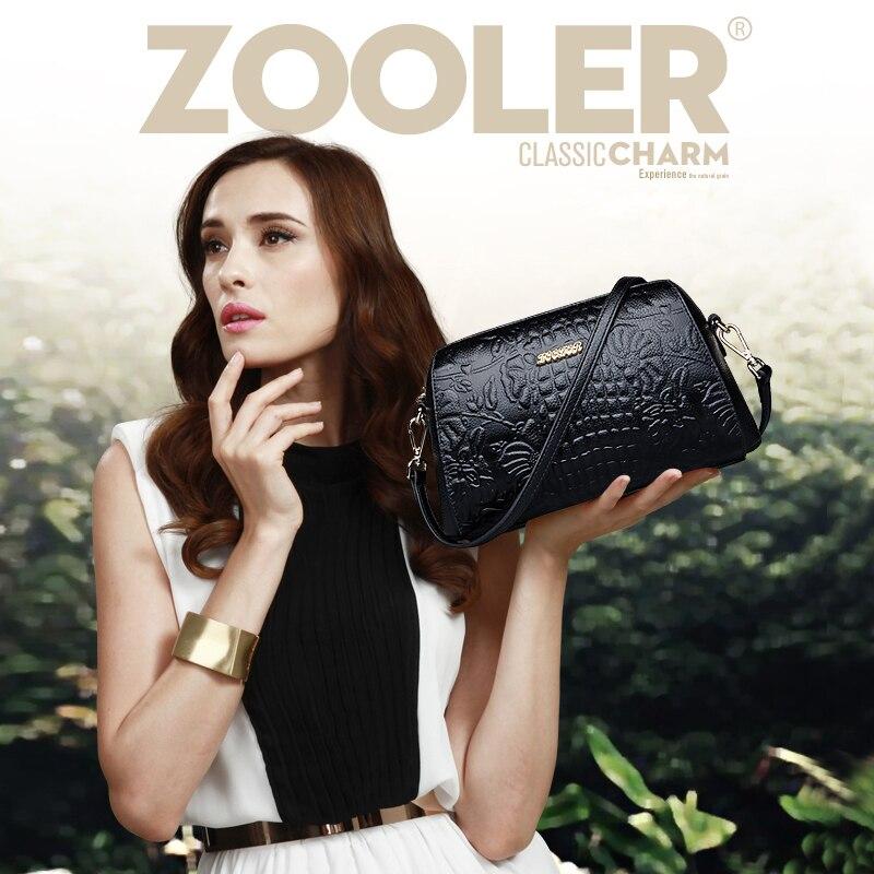 ФОТО ZOOLER wholesale mini bag 2017 women messenger bags genuine leather shoulder bag famous brand ladies crossbody stylish bag#6085
