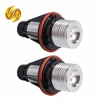 2 Pieces 1 Set 2 5W 10W Bridgelux Chip LED Marker Angel Eyes 7000K XENON White