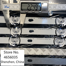10 יח\חבילה 100% חדש LED תאורה אחורית רצועת עבור LG 55LF5950 innotek DRT 3.0 55 אינץ B 6916L 1730A 1731A 6916L 1990A 1991A