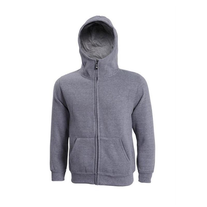 kalebo Casual sweate new cashmere hooded hoody DIY couple coat casual long sleeve plus cashmere jacket