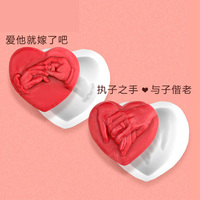Silicone Mold Hand Romantic DIY Valentine S Day Gift Soap Molds Food Grade Mould Handmade Soaps