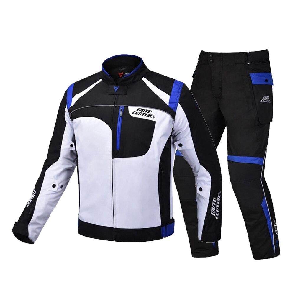 Veste de Moto imperméable motocentrique veste de Moto + pantalon de course vêtements de Moto de course costume de Moto pour 4 saisons
