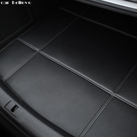 Car Believe Car Trunk Mat For Mitsubishi ASX outlander lancer 10 pajero sport car Accessories styling cargo liner