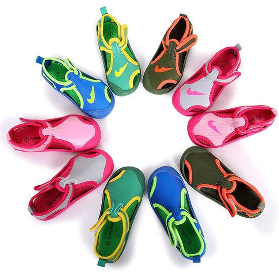 2016 Children Shoes Summer kids Sandals Anti slip soft canvas Fishman Shoes kids Sandals Summer Beach Shoes boys girls sandals
