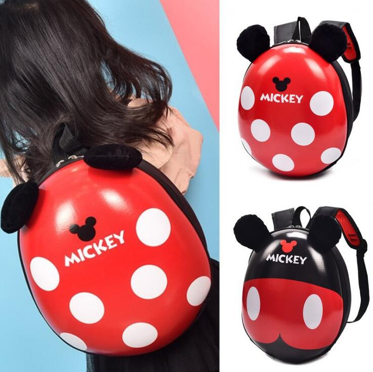 2018 new 3D Cartoon Kindergarden Mickey Backpack Children Bag Mini School Bags For Kids Bag Girls Boys Cute Kid Minnie Backpacks 3d cartoon kindergarden backpack children mini toddler school bags for kids bag girls boys cute animal zoo preschool backpack