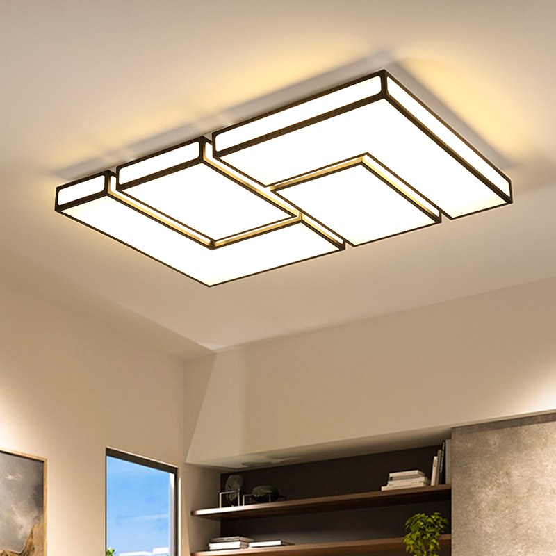 Modern LED ceiling light for living dining room AC85~265V square simple decoration lighting fixtures modern lampara de techo LED