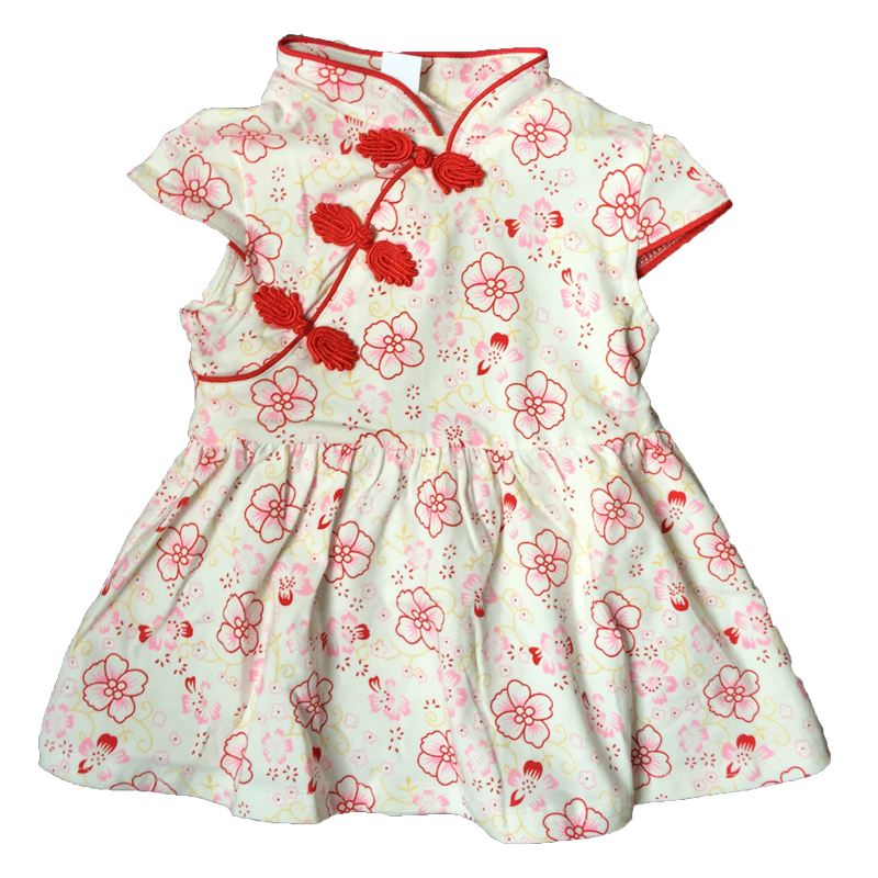 2018 Summer Fashion Style Baby Clothes Baby Girl Dress Cotton Pattern Kids Clothes bebe costume outfit infant Toddler clothing