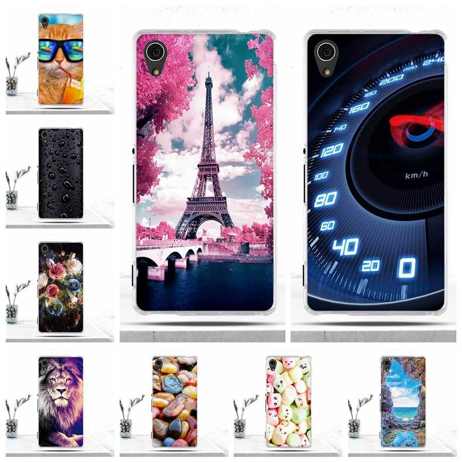 Phone Case For Sony Xperia M4 Aqua E2303 E2333 Case Soft TPU Silicone Phone Cover for Sony Xperia M4 Aqua E2303 E2353 Cover Bags