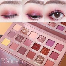 ZHENDUO 18 Colors shimmer matte glitter Eyeshadow waterproof Eye shadow Palette Desert Rose Style beauty makeup palette