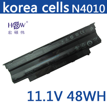 original laptop battery for Dell FOR Inspiron 13R 14R 15R 17R M501 M5010 N3010 N4010 N5010 N5030 N7010 451-11510,J1KND,WT2P4