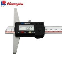 Sale GUANGLU Digital Depth Caliper Gauge 0-150/200/300mm/0.01mm Electronic Digital Vernier Callipers Paquimetor Measure Tools