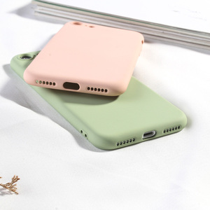 Image 4 - Silikon Fall Für iPhone 7 8 6 6 s Plus X XR XS MAX Volle Abdeckung Weiche TPU Silikon Protector zurück Telefon Deckt Stoßfest Fundas