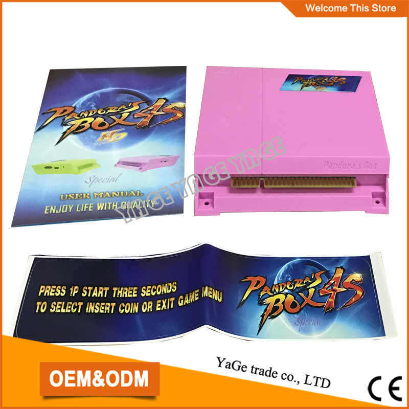 ФОТО 680 in 1 multi game board  Pandora's Box 4S ,Jamma game board VGA output for arcade game machine