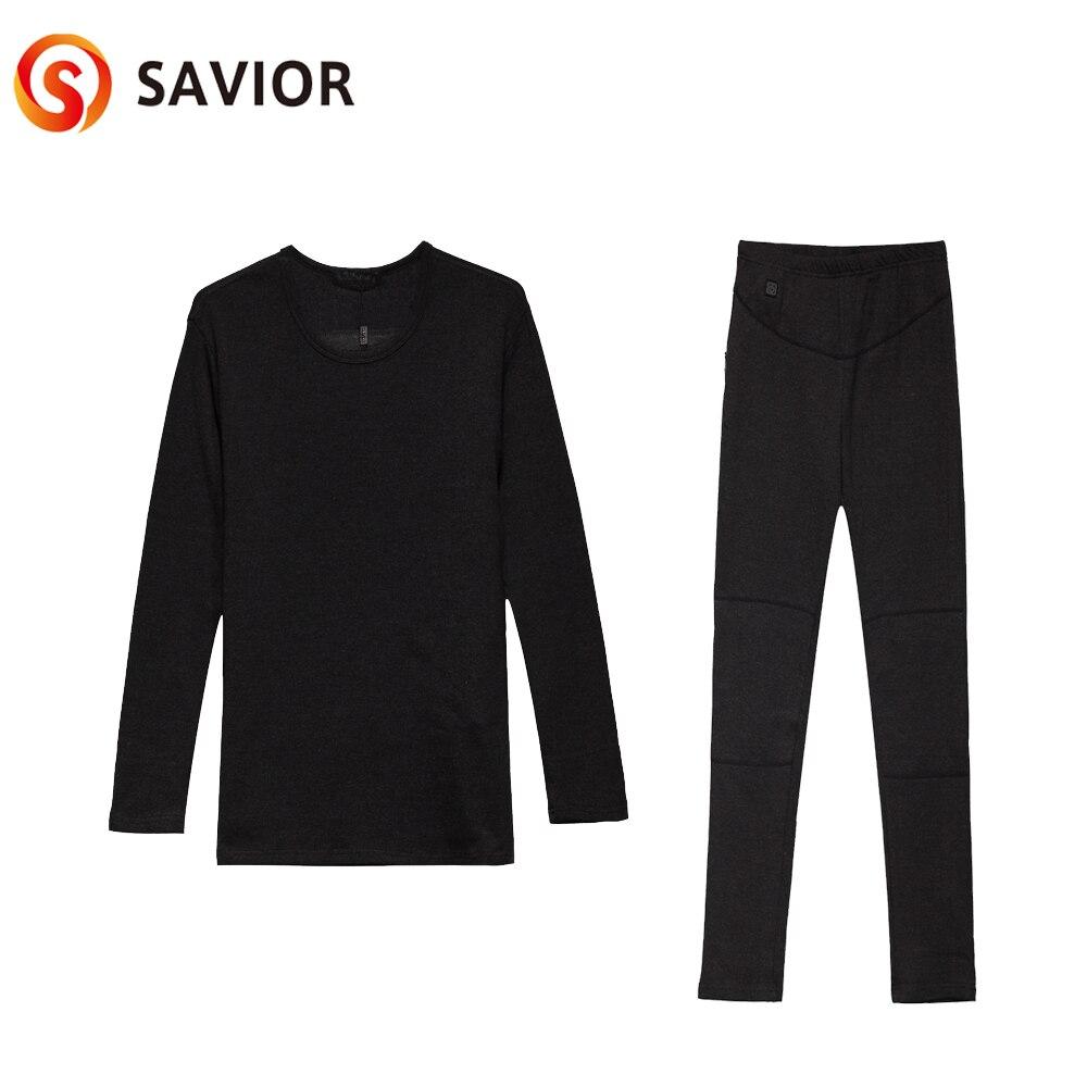 Спаситель мужское тепловое термобелье батарея нагревающая одежда зимняя уличная одежда для верховой езды спортивная одежда с подогревом хлопок