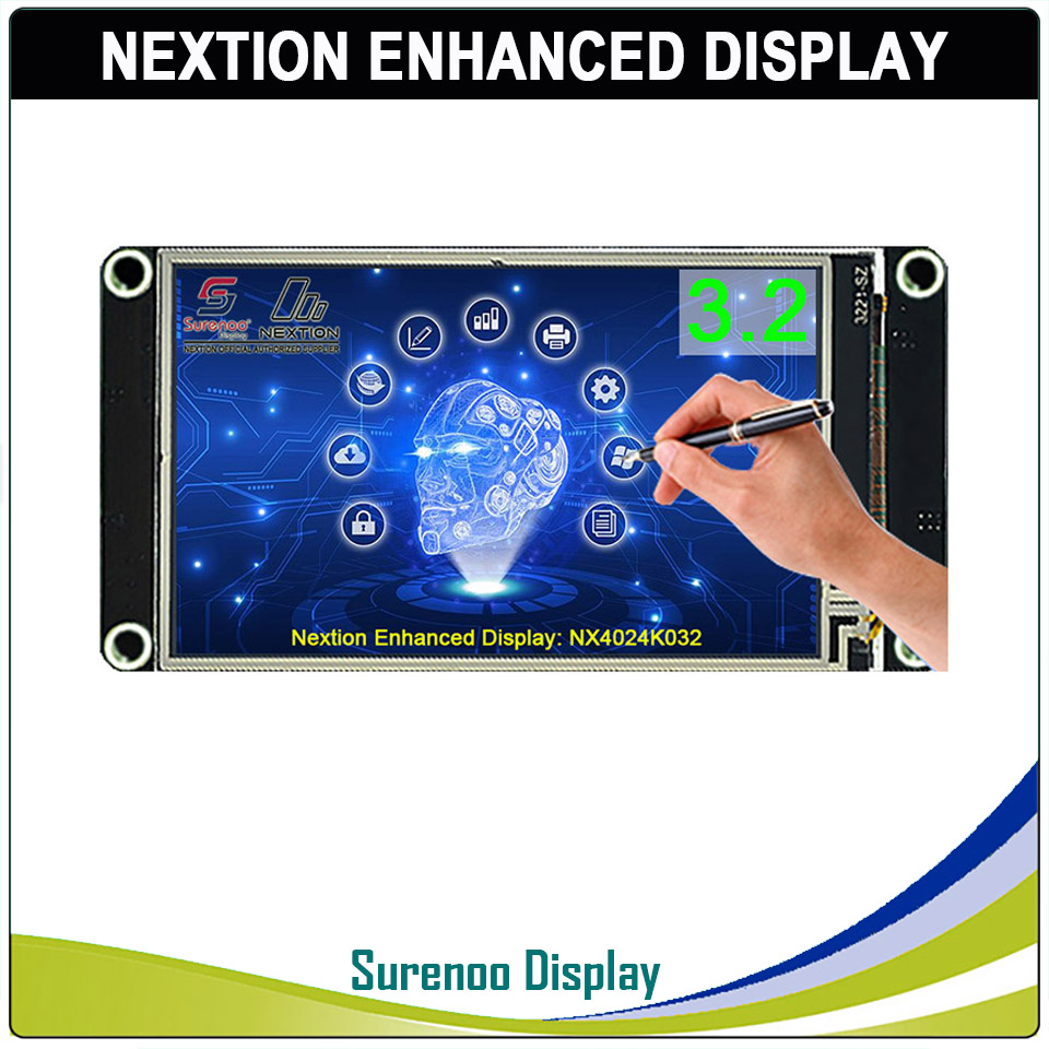 """3.2"""" NX4024K032 Nextion Enhanced HMI USART UART Serial Resistive Touch TFT LCD Module Display Panel for Arduino Raspberry Pi-in LCD Modules from Electronic Components & Supplies"""