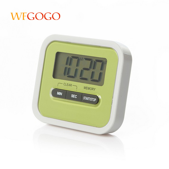 WFGOGO Latest Digital Kitchen Timer Loud Kitchen Timer Big Digits Cooking  Timer Can Be Used As