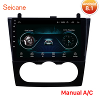 Seicane Android 8.1 car GPS Stereo Radio player For 2008 2012 Nissan Teana Altima Manual A/C and Auto A/C Support DVR wifi SWC