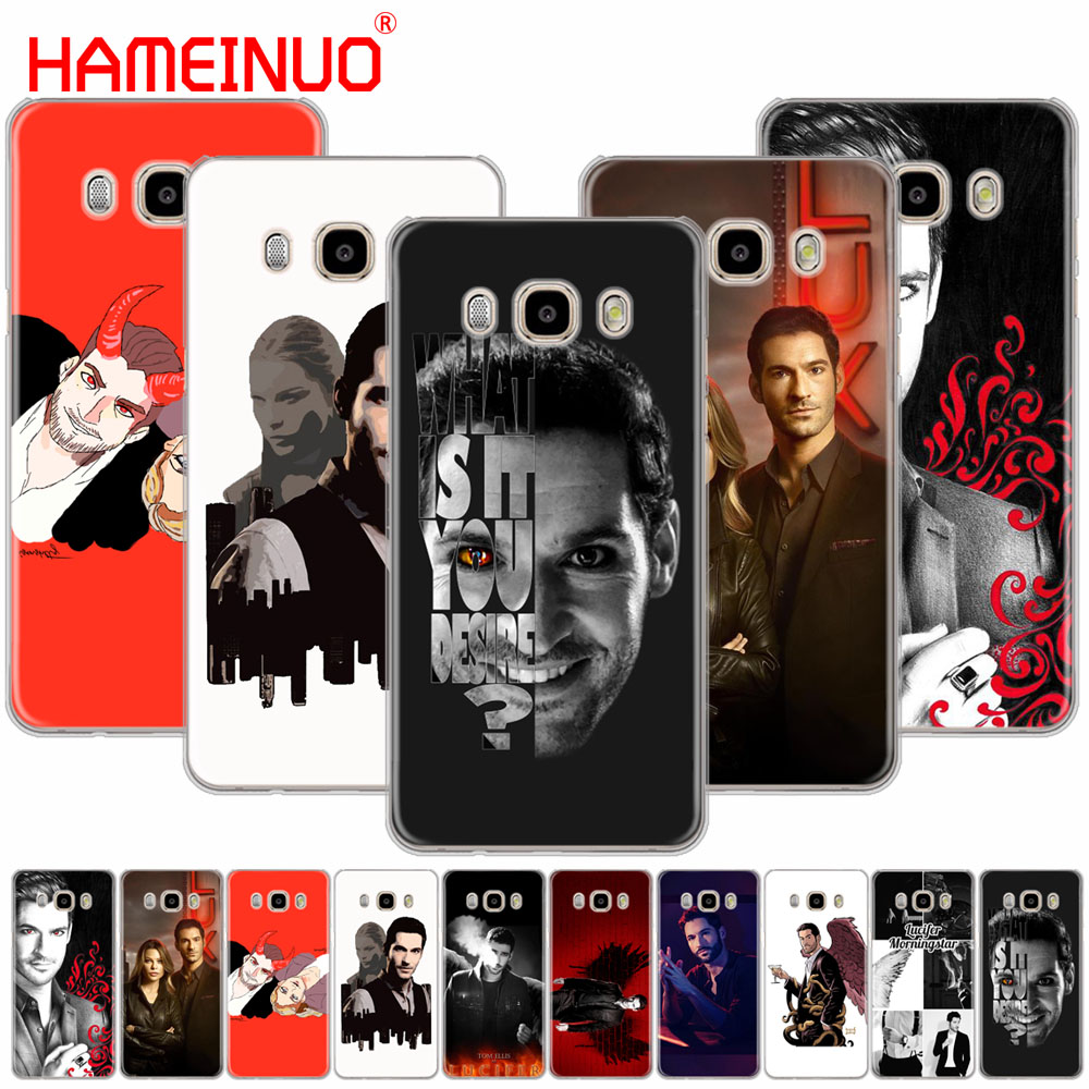 HAMEINUO lucifer tv show cover phone case for Samsung Galaxy J1 J2 J3 J5 J7 MINI ACE 2016 2015 prime