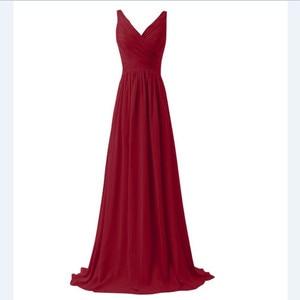 Image 5 - Lly1130t # vestidos de noiva, para festa de casamento, baile, moda feminina, decote em v, longo, com renda, azul céu