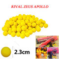 $1.82 Super Quality 20 Pcs 10 pcsRounds Bullet Balls for Nerf Rival Refill Compatible Kids Toys Yellow HOT