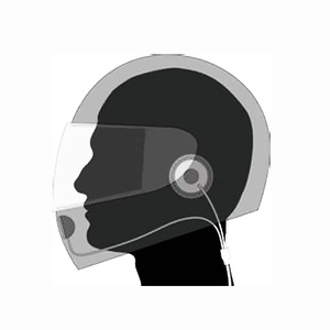 Image 5 - Motorrad Full Face Helm Headset Hörer für Two Way Radio Baofeng Walkie Talkie UV 5R UV 5RA Plus BF 888S GT 3 GT 3TP Mark