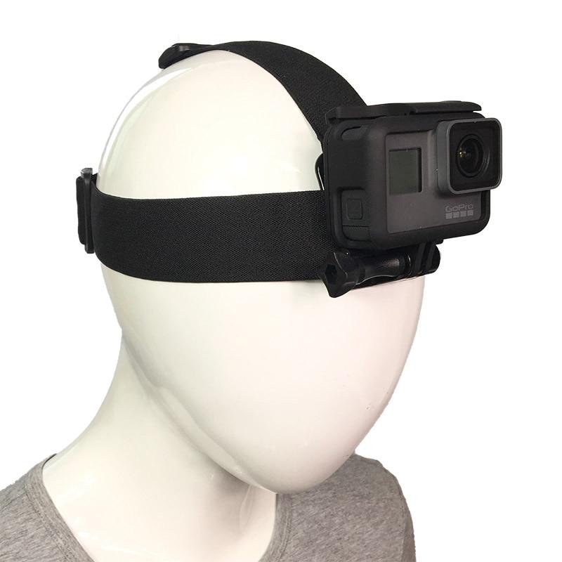 2018 аксессуары для экшн-камеры головная повязка на голову Крепление на шлем для Gopro Hero 7 6 5 4 3 + Xiaomi Yi 4K Sjcam SJ4000 EKEN Cam