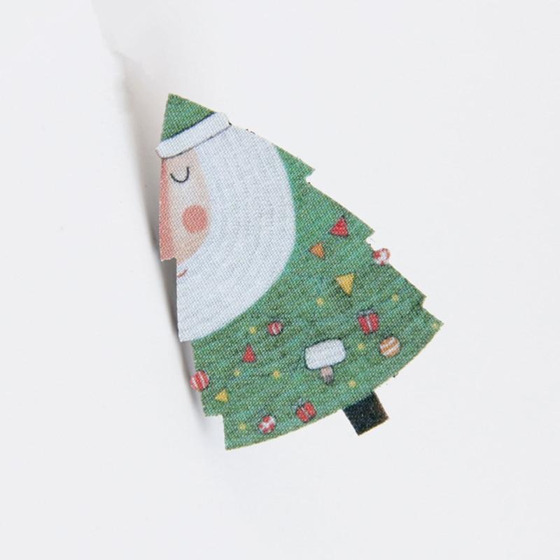 DoreenBeads Christmas Tree Badge Fashion Cartoon Felt Brooch Pin Kids Woman Accessory for Sweater Coat Jacket Hat Bag Pants 1 PC