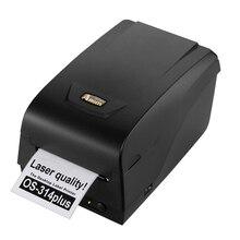 Argox 0S 314plus 300 dpi thermique imprimante code à barres peut imprimer autocollant étiquette Bijoux étiquettes de vêtements étiquette haute performance machine