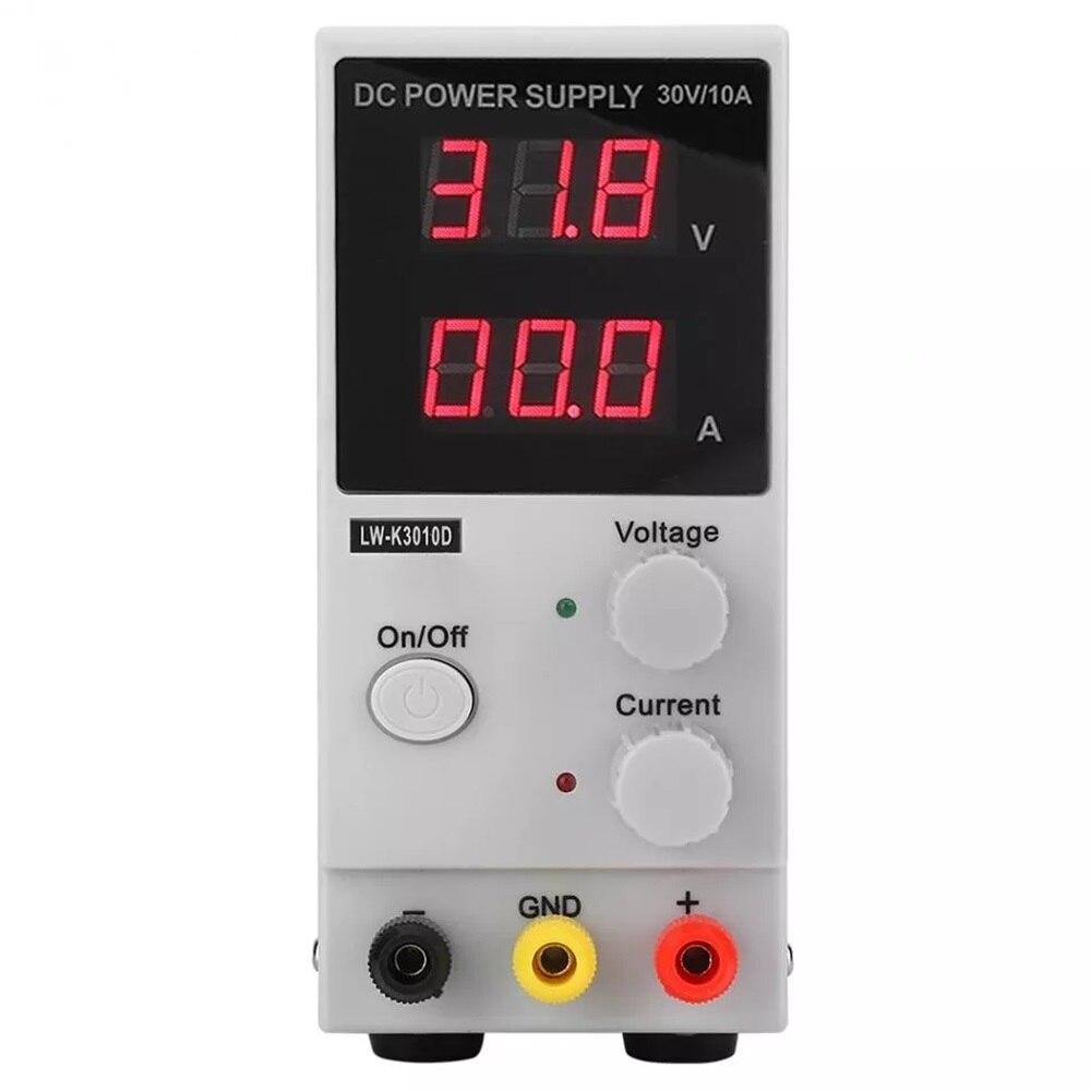 Régulateur de tension numérique d'alimentation réglable 30 V 10A DC contrôleur de puissance de LED d'alimentation de laboratoire LW-K3010D 110 V/220 V