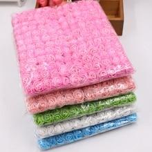 Sale!! 2cm head Multicolor PE Rose Foam Mini Flower Bouquet Solid Color/Scrapbooking Artificial foam Flowers(144pcs/lot)