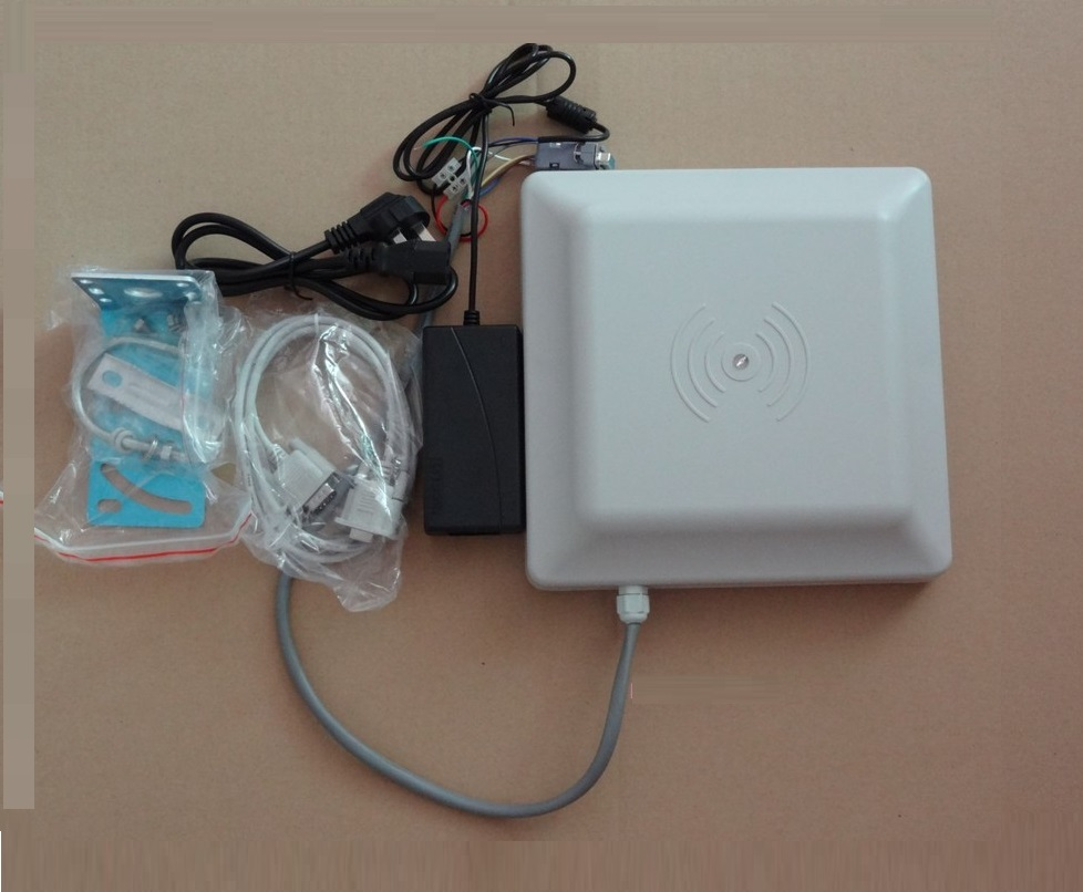 Best Quality UHF RFID Card Reader 6m long range with interface RS232/RS485/Wiegand Reader For Parking Management System
