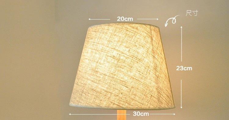 14 pcs E27 handmade classic decorative lampshade flax table lamps fabric cover Rustic Country retro E27 medium