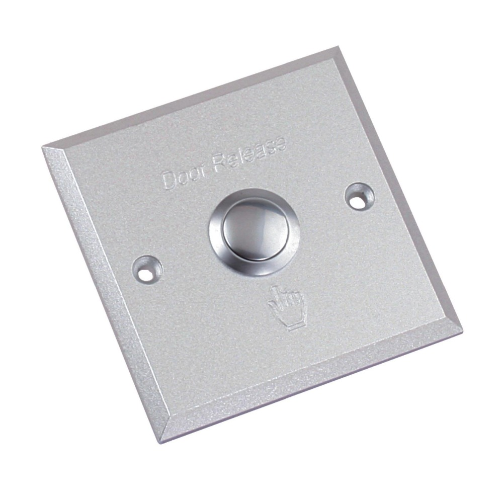 stainless steel door release switch emergency exit button for access control system