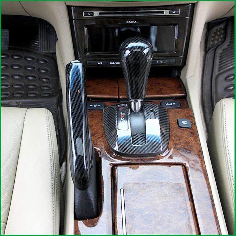 For Honda Accord 2008-2012 1PCS ABS Interior Car Handbrake Handle Gear Shift Knob Sticker Panel Cover Trim Moldings Car Styling