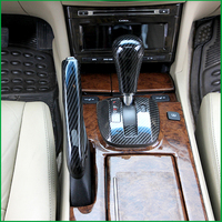 For Honda Accord 2008 2012 1PCS ABS Interior Car Handbrake Handle Gear Shift Knob Sticker Panel Cover Trim Moldings Car Styling