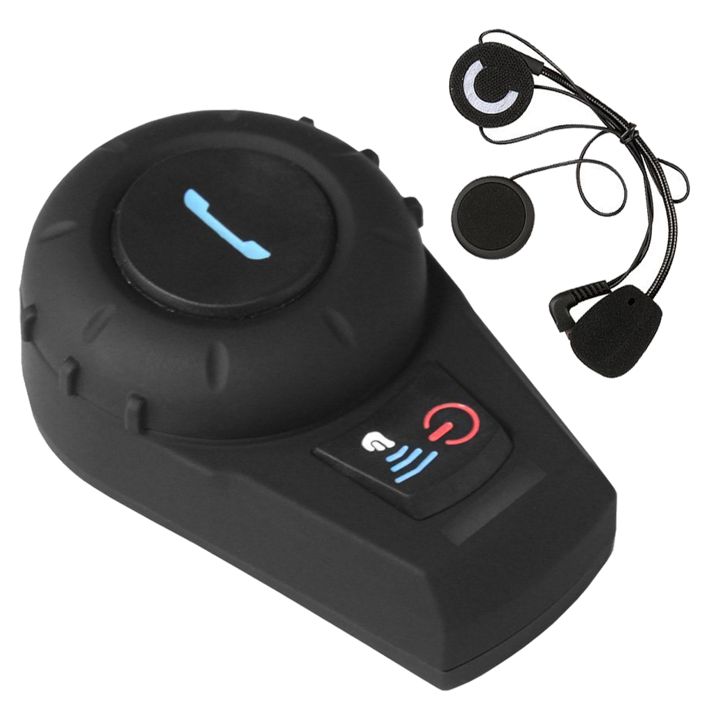 500 M casque de moto Bluetooth casque interphone sans fil