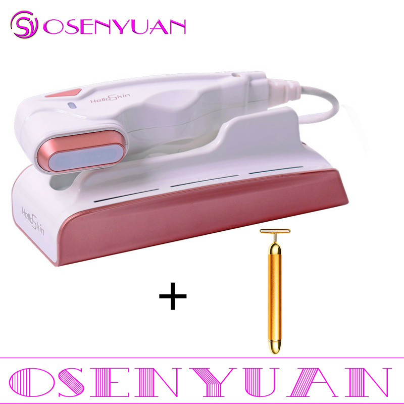 Best Skin Care Mini Hifu Spa Beauty Machin V Curing High Intensity Focused Facial Lifting Machine Face Lift RF LED Anti Wrinkle