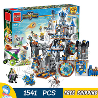 1541pcs 2in1 The War Human VS Elves Knights Castle Attack Stormwind Tank Model Building Blocks Toys