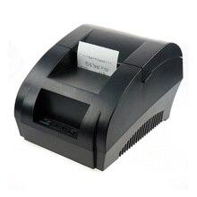 Бесплатная доставка черный USB Порты и разъёмы 58 мм термальным POS принтер низкий уровень шума. Принтер тепловой