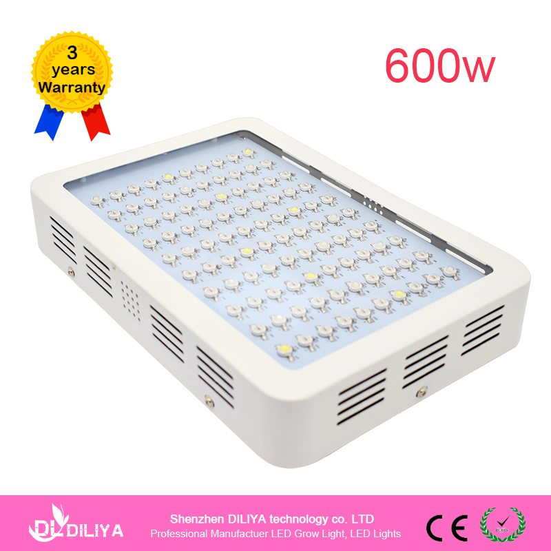 Industrial Grow Light: NEW 600 Watt Led Grow Light Lamp Full Spectrum Lamps For
