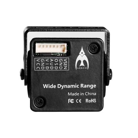 1pcs FOXEER Arrow V3 2.5mm 600TVL HAD II CCD NTSC IR Block Mini FPV Camera Built-in OSD MIC Motion Detection with Metal Case Multan