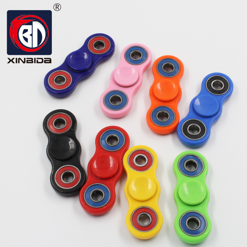 Colorful Tri-Spinner Fidget Toy Plastic EDC Hand Spinner For Autism and ADHD Rotation Time Long Anti Stress Toys Hot Selling creative ceramic tri spinner fidget toy edc hand spinner for autism and adhd stress relieve toy rotation time beyond 6 minutes