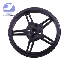عجلة 10 قطعة لـ SG90 9g دوران مستمر 360 درجة مؤازر آلي صغير FS90R