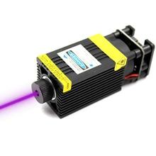 Oxlasers 500mW 405nm 12V 5A fokussierbar Laser Modul Laser Stecher teil Laser Kopf mit TTL PWM control UV LASER kostenloser versand