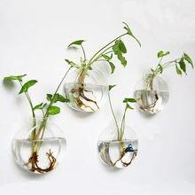 Набор из 4 стеновых Висячие клумбы стеклянный горшок для растений воздушный Террариум для растений контейнеры для растений стеклянные терраримы