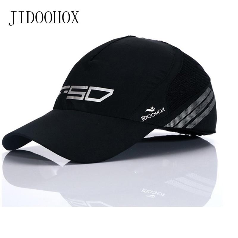 55-60cm gyorsan száradó elnyelő verejték baseball sapka divat férfi golf nap kalap gyors száraz vékony pamut hűvös női nyári visor