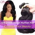 Best Selling Brazilian Body Wave 4 Bundles Brazilian Hair Weave Bundles BodyWave Brazilian Virgin Hair Body Wave Top Human Hair